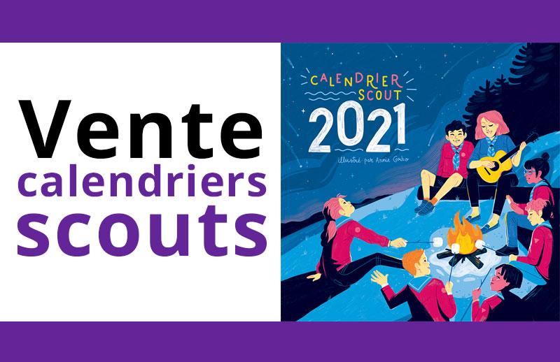Scouts de Thetford   Vente du calendrier scout 2021   REPORTÉ